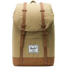 Herschel Retreat Selkäreppu 19,5l, kelp/saddle brown